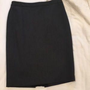 Ann Taylor classic grey skirt